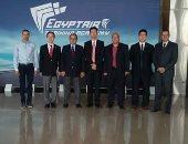 وفد صينى يزور أكاديمية مصر للتدريب لبحث فرص التعاون المشترك