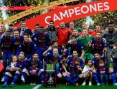 برشلونة بطل الكأس