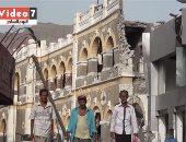 آثار يمنية مدمرة بسبب تمرد الحوثيين