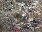 أكوام القمامة بمنقباد