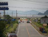 الحدود بين الكوريتين