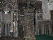 منبر مسجد - صورة ارشيفية