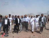 الدكتور مصطفى مدبولى وزير الإسكان خلال جولته بالمشروع