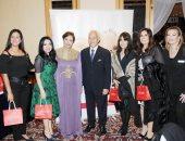 جانب من حفل لجنة المرأة بالجمعية المصرية اللبنانية لصالح صندوق تحيا مصر