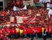 تظاهرات فى جنوب أفريقيا