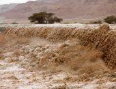 أمطار غزيرة فى فلسطين