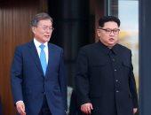 زعيم كوريا الشمالية ونظيره الجنوبي