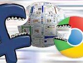 جوجل وفيس بوك