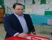 رئيس الوزراء التونسى يوسف الشاهد