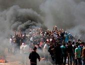 مظاهرات يوم العودة فى غزة