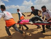 مصاب فلسطينى - صورة أرشيفية