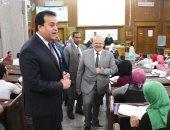 وزير التعليم العالى ورئيس جامعة القاهرة