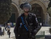 شرطة الاحتلال امام المسجد الاقصى