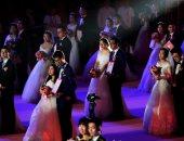 حفل زفاف جماعى بالصين