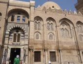 مسجد السلطان قلاوون فى شارع المعز