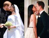 من حفل زفاف الأمير هارى وميجان وصورة من مسلسل suits