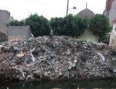 القمامة تحاصر المقابر
