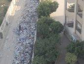 القمامة تحاصر مدرسة عبد الرحمن بن عوف
