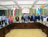 جامعة دمنهور تحتفل بذكرى انتصارات العاشر من رمضان