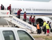بعثة ليفربول تصل مطار ميرسيسايد