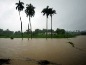 أمطار غزيرة جراء العاصفة ألبرتو