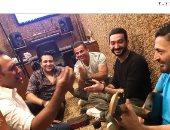 عمرو دياب وتامر حسين وعمرو مصطفي ونادر حمدى وحميد الشاعرى