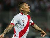 باولو جيريرو مهاجم منتخب بيرو لكرة القدم