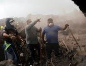 البحث عن مفقودين من ضحايا بركان جواتيمالا