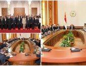 اجتماع الرئيس والحكومة الجديدة