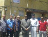 نائب محافظ القاهرة يتفقد مواقف عبود والمرج