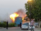 حريق بمدينة الإنتاج الإعلامى