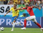 مباراة البرازيل وسويسرا