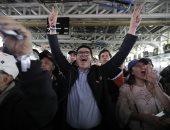 جانب من أنصار الرئيس الكولومبى المنتخب