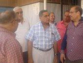 مجدي شريف رئيس حي الساحل يتفقد مستشفى الساحل العام