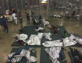 مقر احتجاز للأطفال والقصر على الحدود الأمريكية