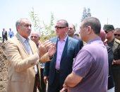 محافظ كفر الشيخ يتفقد مصنع الحامول