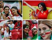 جميلات إيران وإسبانيا