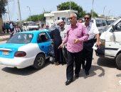 تحرير 4 مخالفات ضد سائقى ميكروباص