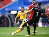 مباراة تونس وبلجيكا