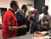 التمثيل العمالى يتابع العمالة المصرية بايطاليا