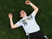 اصابة قوية لرودي لاعب وسط المانيا