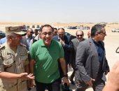 جولة رئيس الوزراء فى الاهرامات