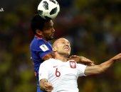 مباراة كولومبيا وبولندا