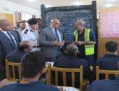 جولة مساعد الوزير لقطاع السجون بأبو زعبل