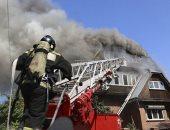 حريق منزل فى روسيا     ارشيفية