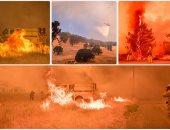 حرائق الغابات- أرشيفية