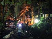 أثناء عملية انقاذ فتية الكهف فى تايلاند