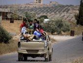 أسرة سورية _ صورة أرشيفية