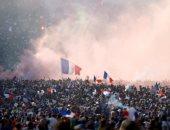 احتفالات فرنسا بالفوز بكاس العالم