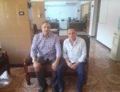 الدكتور ياسر شلبى الأمين العام لفرع نقابة الصيادلة ببنى سويف ومحرر اليوم السابع